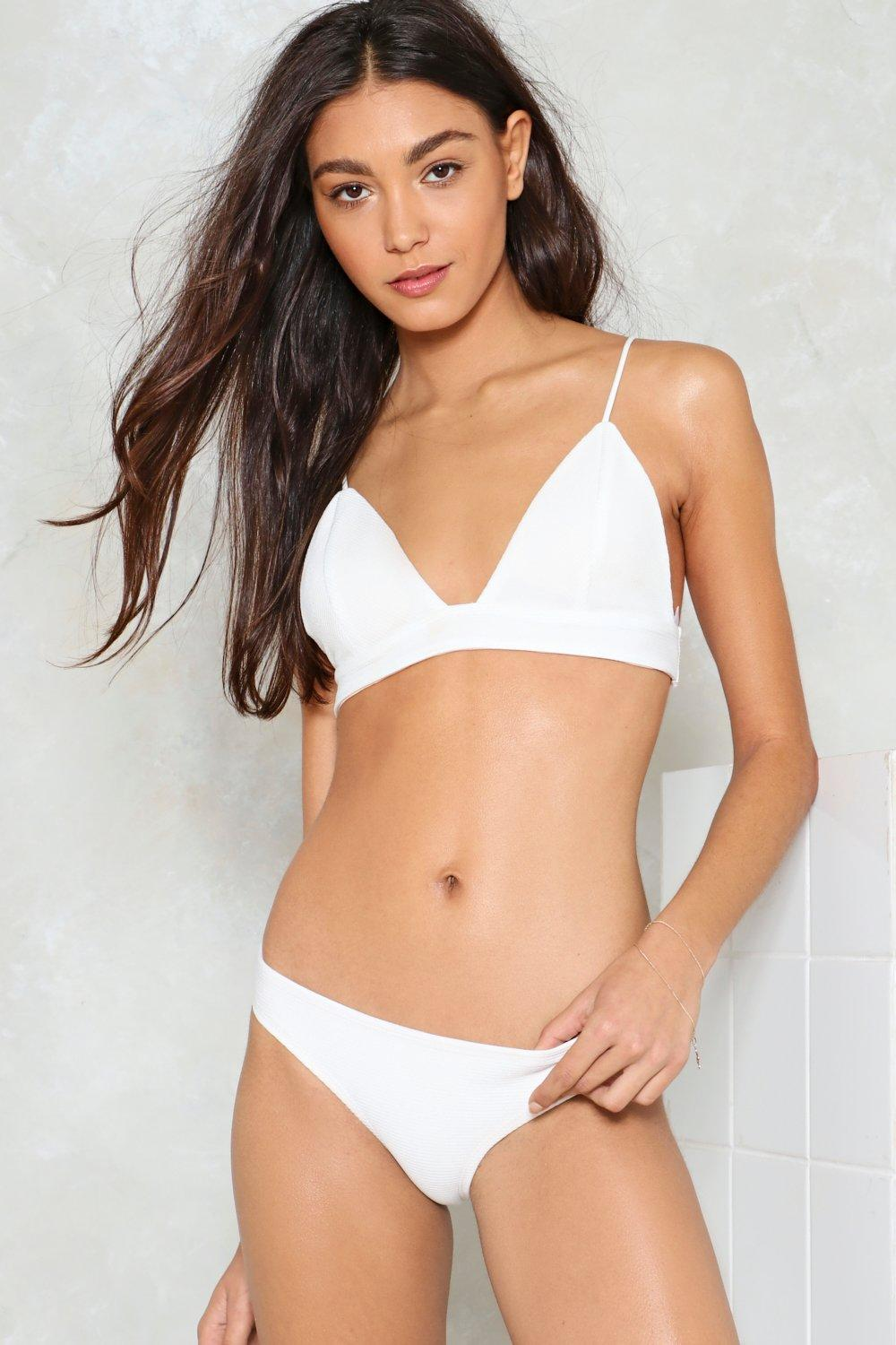 2ddcb3feae853b Against the Tide Ribbed Bikini Set | Shop Clothes at Nasty Gal!