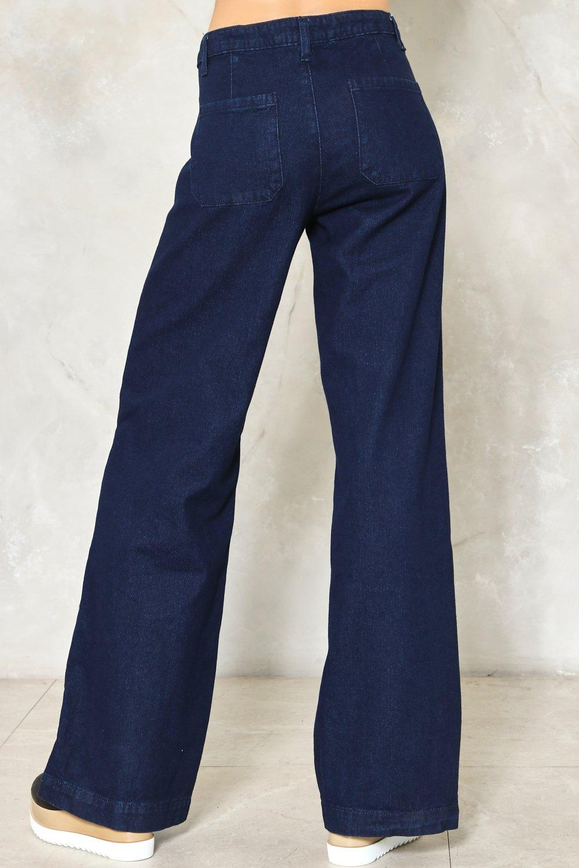 6b5c238ff06e Go Far Wide-Leg Jeans. Hover to zoom