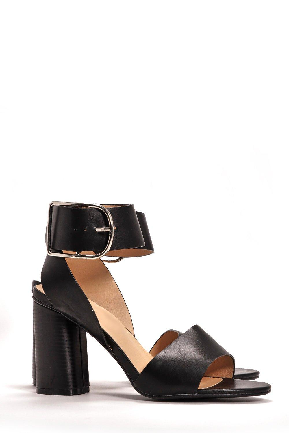 Discount Cost oversized buckle stiletto sandals Discount Outlet Store Buy Cheap Classic Wholesale Online wC9Q2q