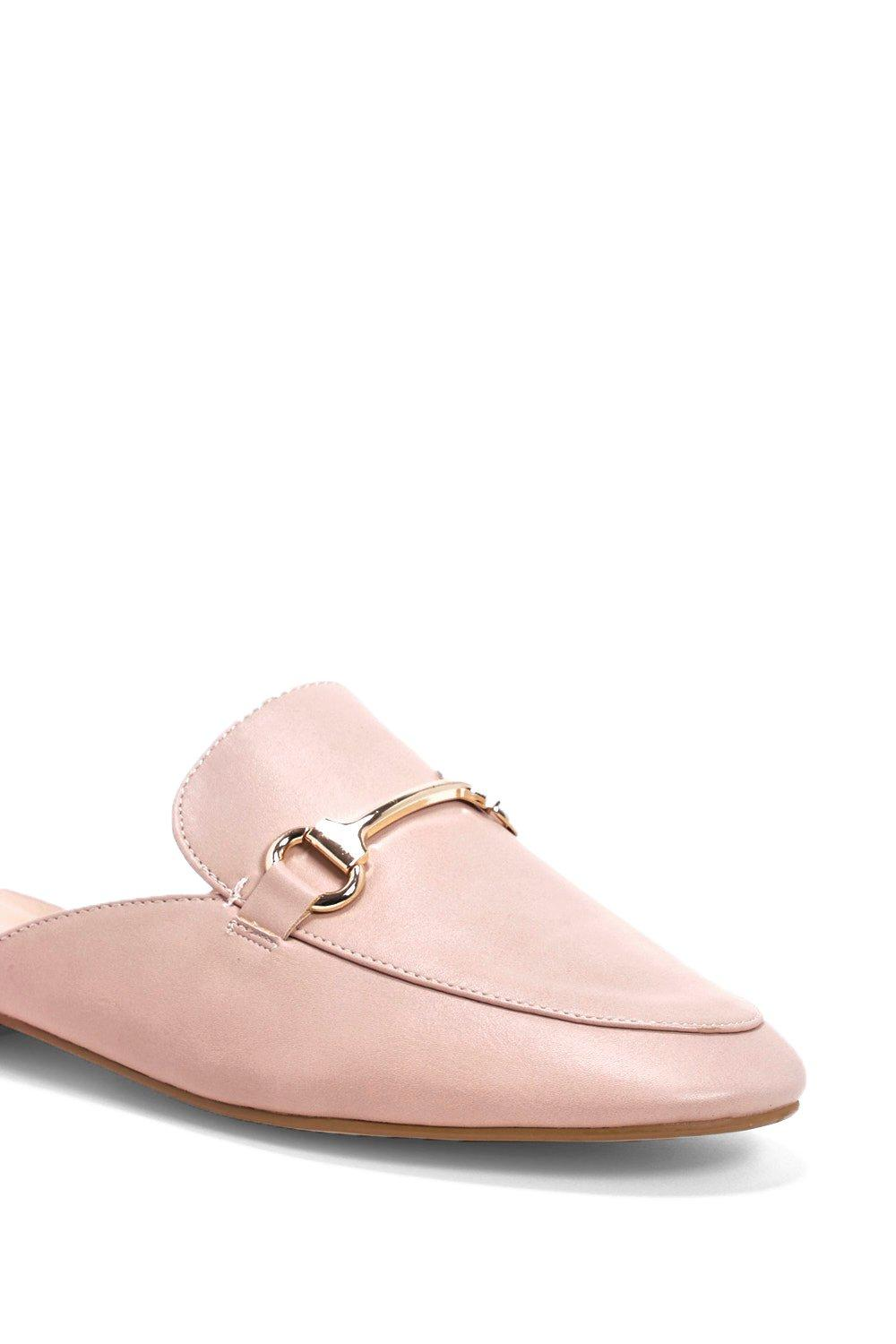 b0e1725f60082 Metallic Trim Mule Loafer | Shop Clothes at Nasty Gal!