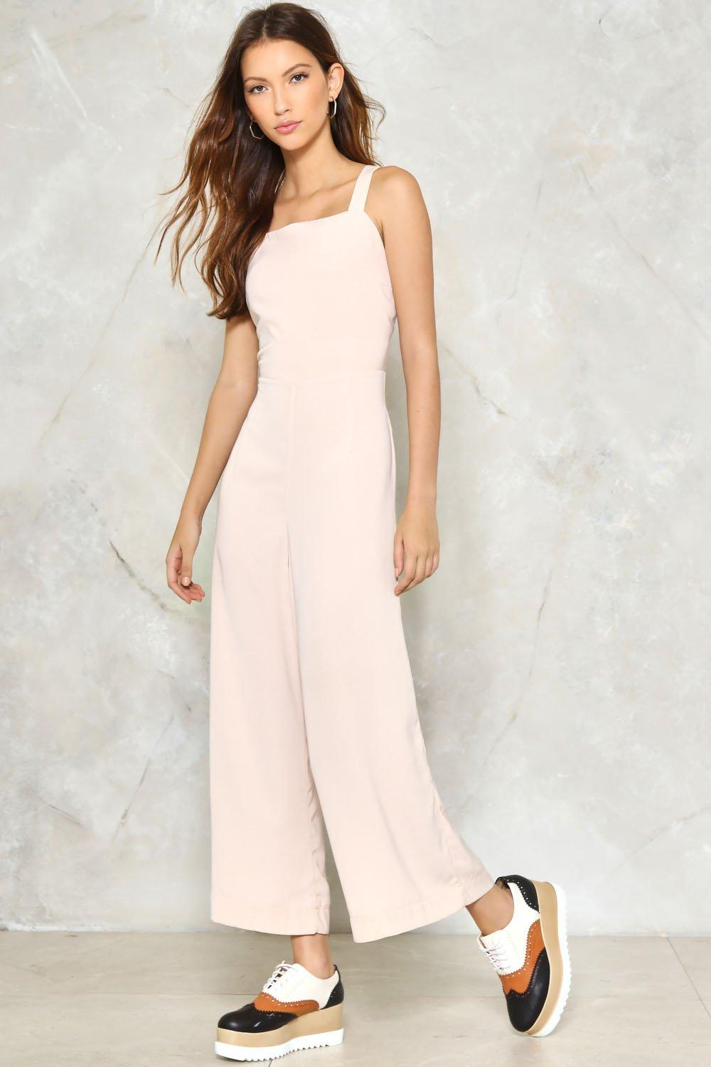 be2b9f0f3bb1 Nicole Tailored Jumpsuit. Hover to zoom