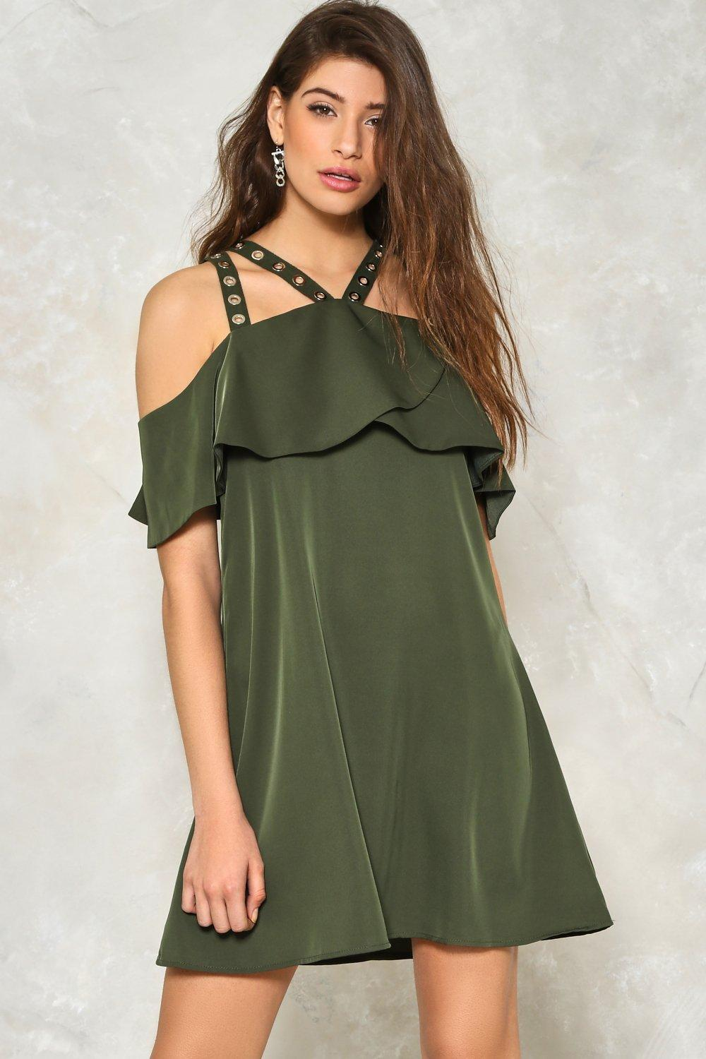 Shoulder Strap Dress