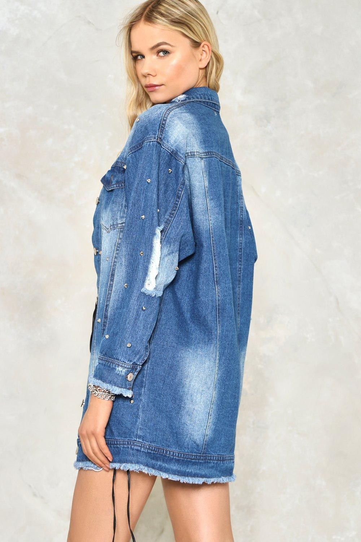00da2493 Go Long Denim Jacket | Shop Clothes at Nasty Gal!