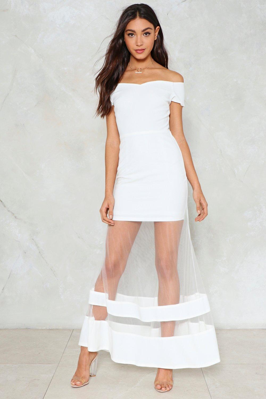 Nadia Off The Shoulder Maxi Dress