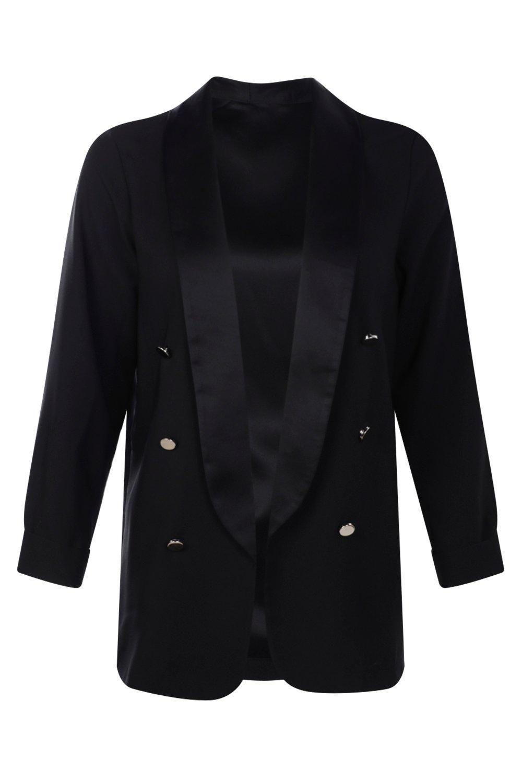 Macy Satin Blazer | Shop Clothes at Nasty Gal!