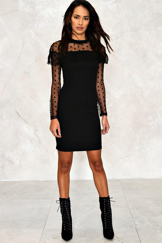 8ba88090673d Natasha Ruffle Bodycon Dress | Shop Clothes at Nasty Gal!