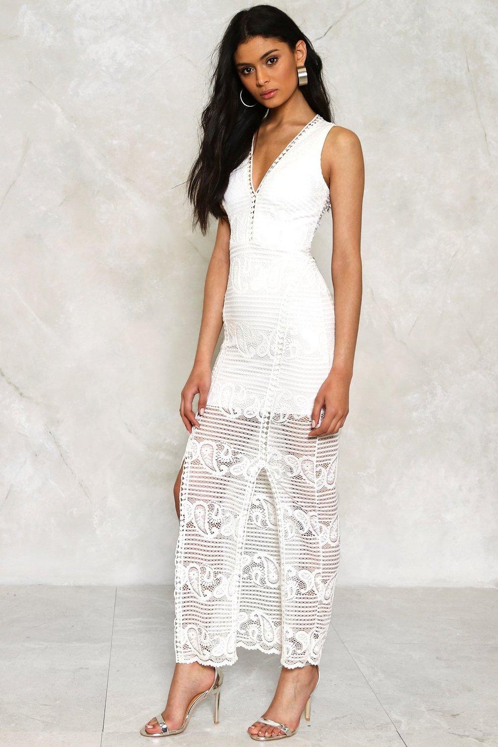 27cba7f7121a0 Emilia Crochet Lace Dress | Shop Clothes at Nasty Gal!