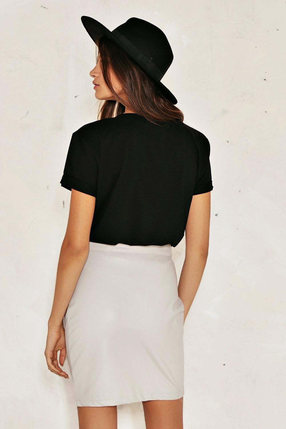 59aa7eb88 Bella Faux Leather Skirt | Shop Clothes at Nasty Gal!