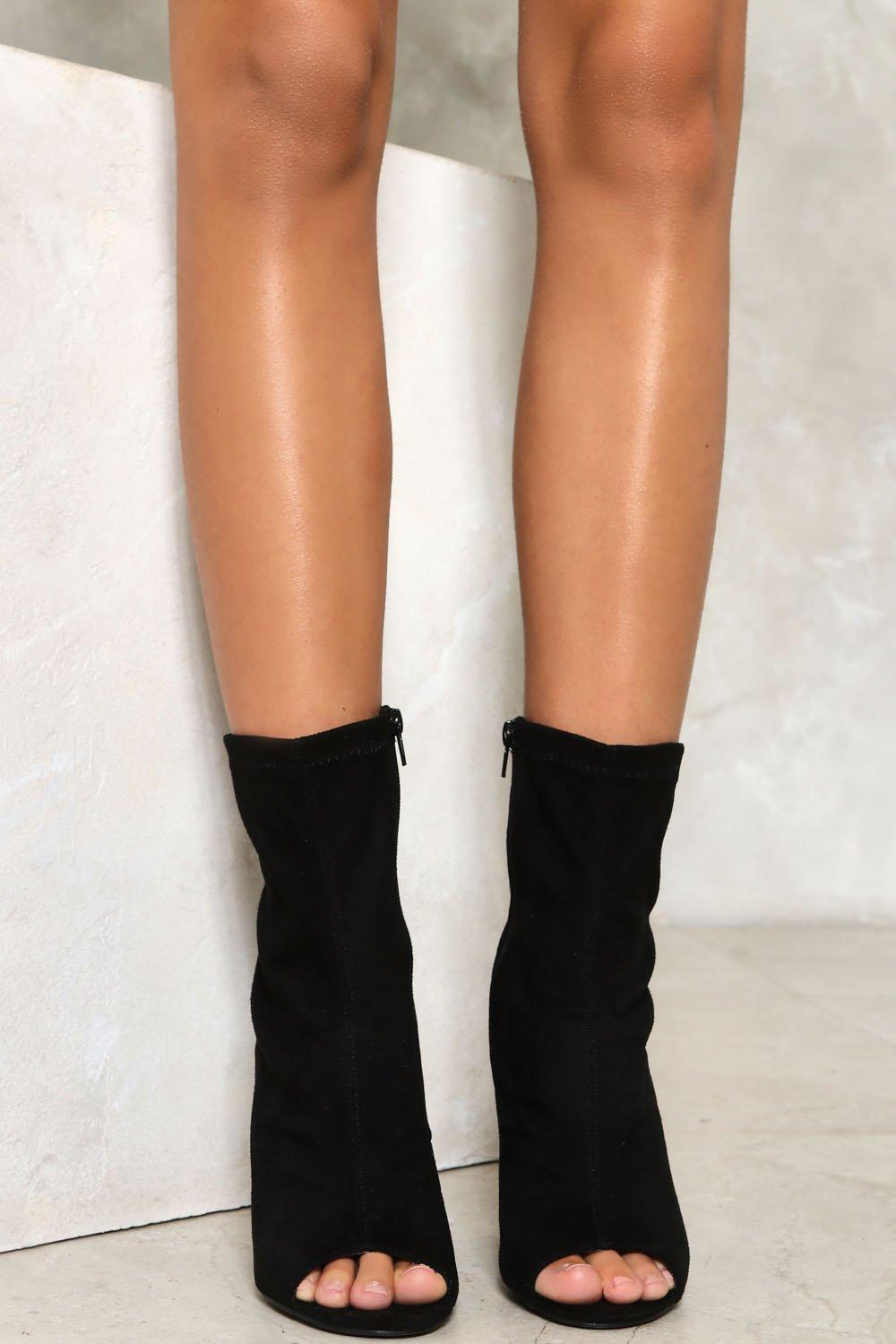 362bae1f6 Vanessa Open-Toe Boots | Shop Clothes at Nasty Gal!