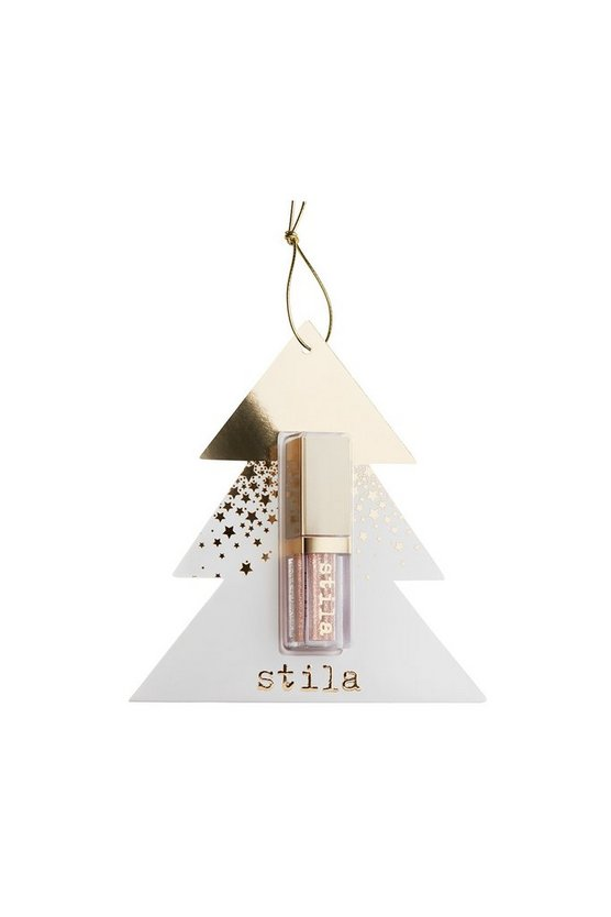Bronze Stila Delux Glitter & Glow Tree Ornament