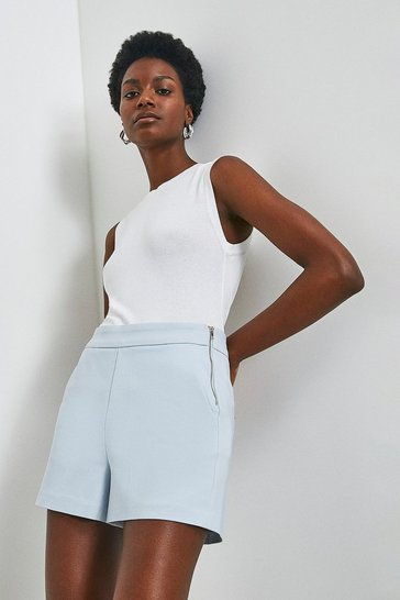 Pale blue Essential Techno Cotton Short