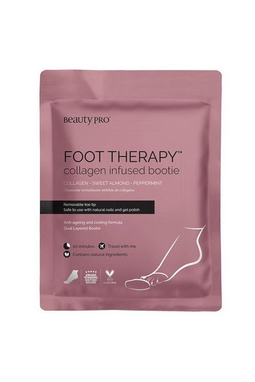 Pink BeautyPro Foot Therapy Booties
