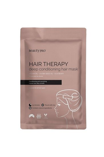 Pink BeautyPro Hair Therapy Sheet Mask