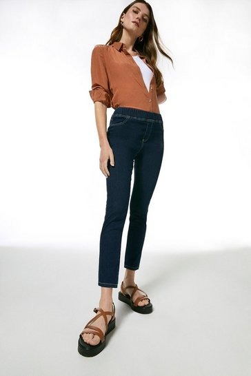 Indigo Organic Denim Jegging