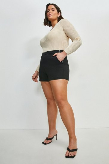 Black Curve Essential Techno Cotton Short