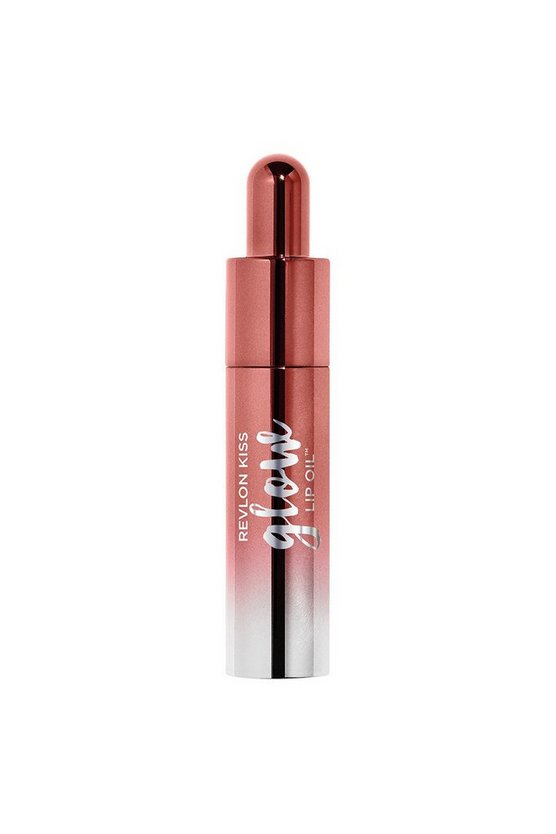 Hot pink Revlon Kiss Glow Lip Oil