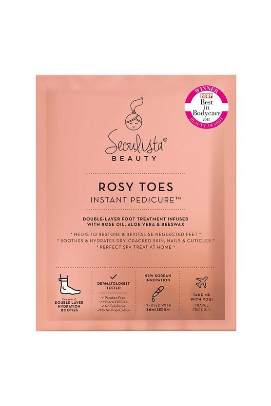 Clear Seoulista Beauty Rosy Toes Pedicure Mask
