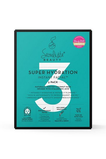 Clear Seoulista Beauty Super Hydration 3 Pack Mask