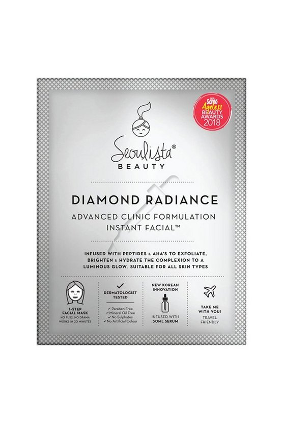 Clear Seoulista Beauty Diamond Radiance Mask