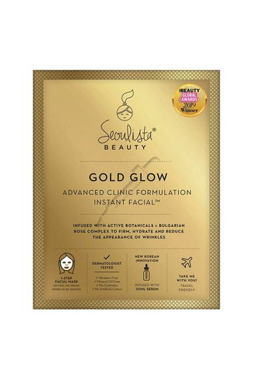 Clear Seoulista Beauty Gold Glow Facial Mask