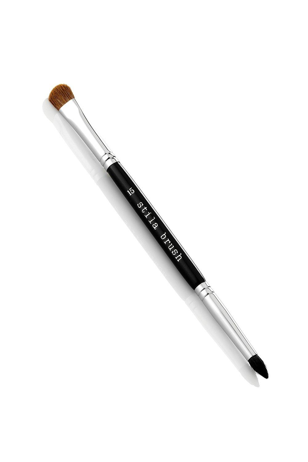 Black Stila #15 Double Sided Brush
