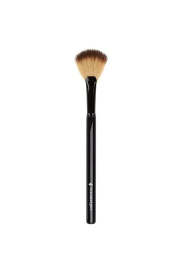 Black Illamasqua Highlighter Fan Brush