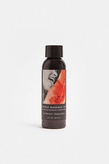 Clear Watermelon Body Edible Massage Oil 60ml