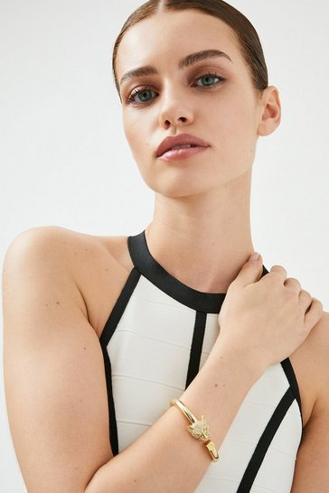 Gold Plated Tiger Cuff