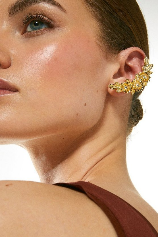 Gold Plated Ear Cuff Set