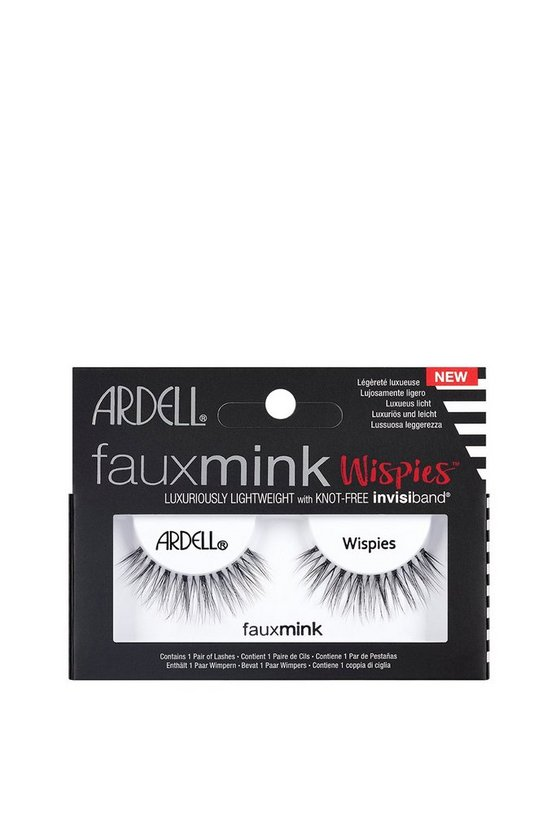 Black Ardell Faux Mink Wispies Lashes