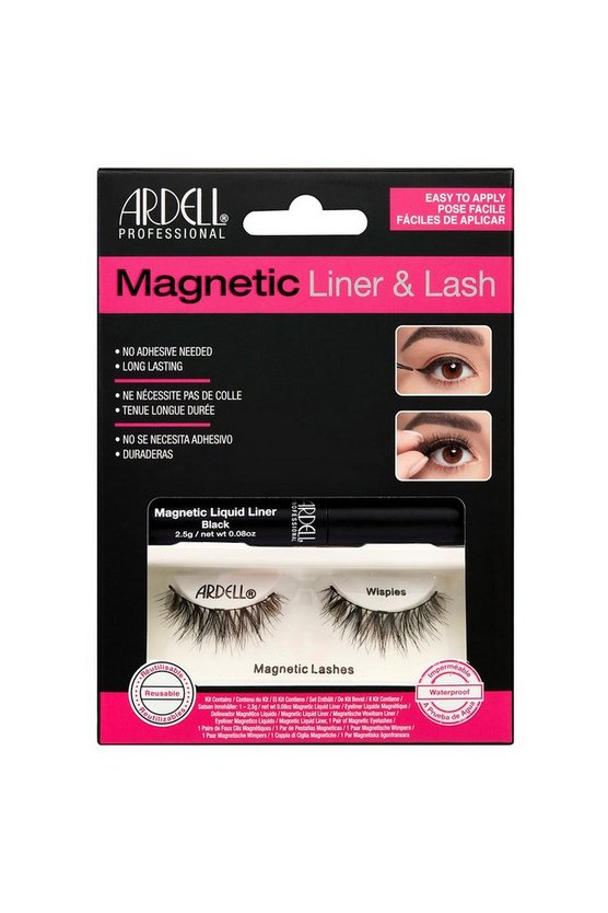 Black Ardell Magnetic Liquid Liner Lash Wispies