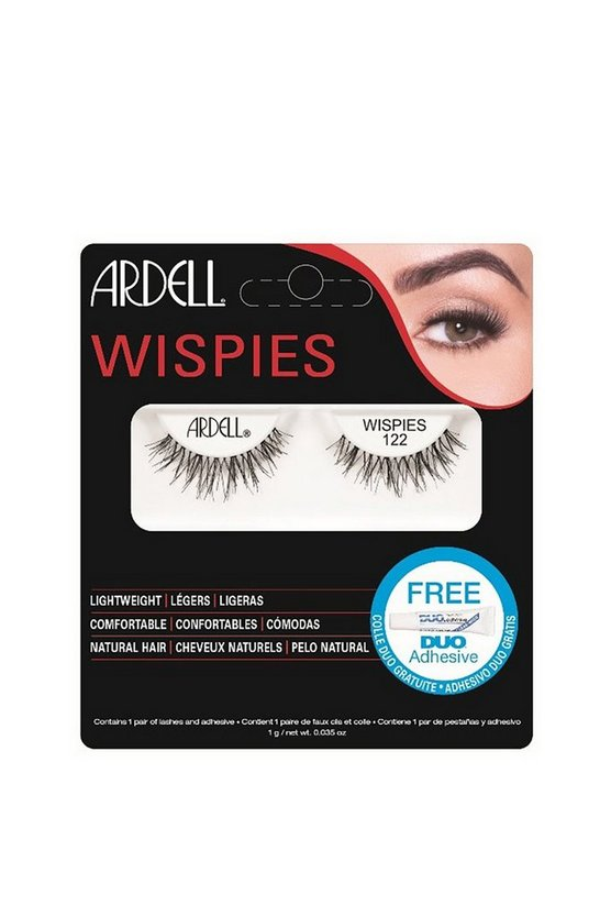 Black Ardell Wispies 122 Lashes
