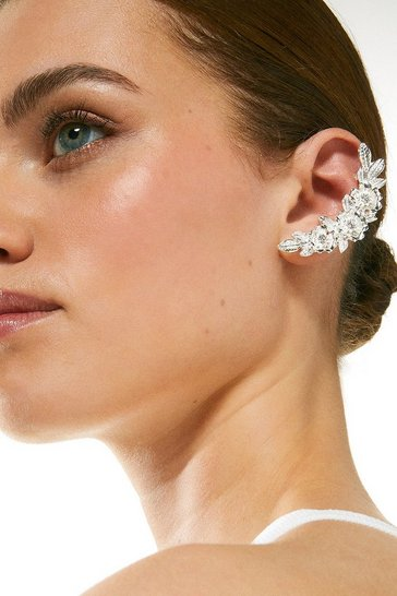 Silver Plated Ear Cuff Set
