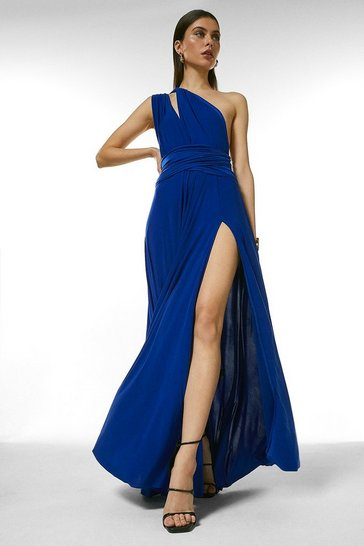 Cobalt Multiway Maxi Dress