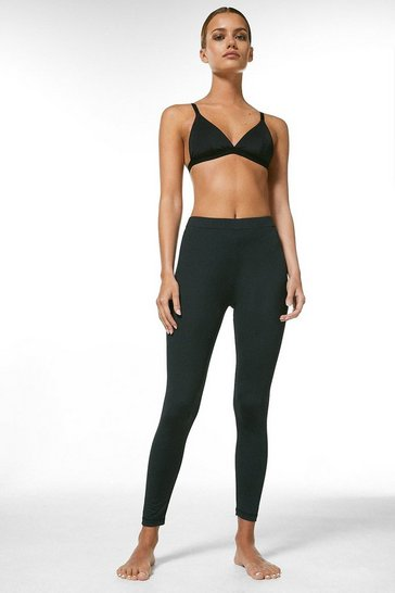 Black Petite Smoothing Essential Leggings