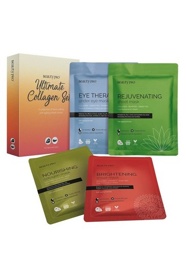 Clear BeautyPro Ultimate Collagen Mask Set
