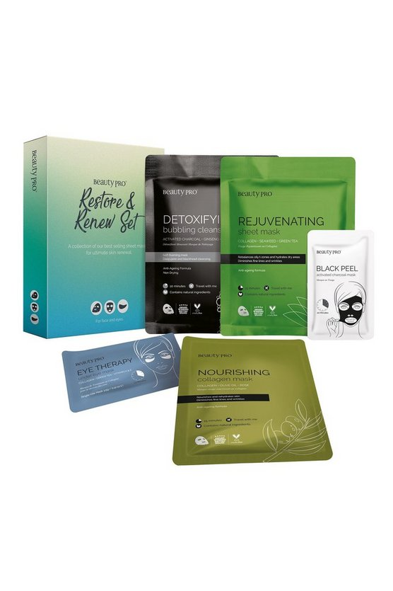 Clear BeautyPro Restore and Renew Mask Set