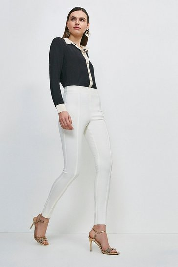 Cream Black Label Italian Technical Jersey Legging