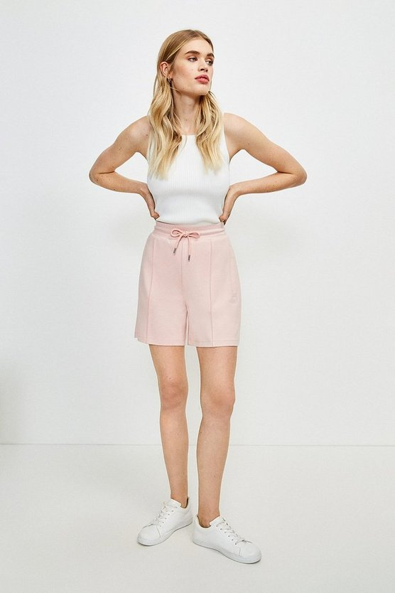 Dusky pink Lounge Smart Ponte Short