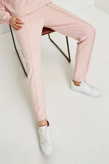 Pink Smart Ponte Lounge Trousers