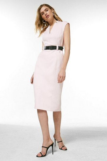 Blush Forever Cap Sleeve Dress