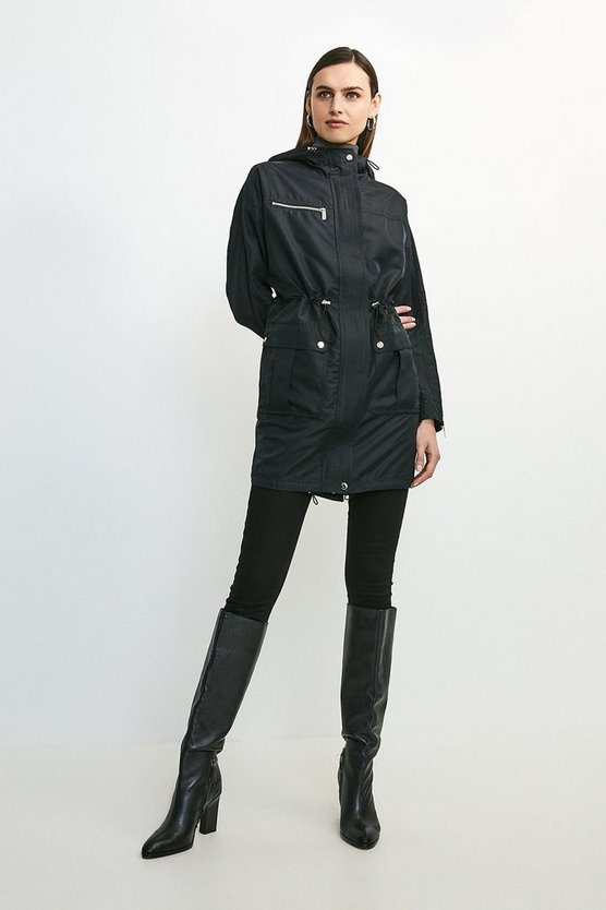 Black Parka Mac