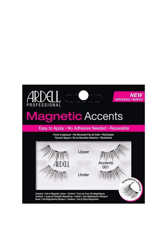 Black Ardell 01 Magnetic Natural Lashes