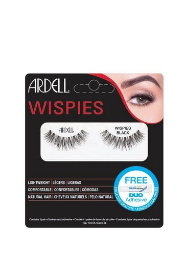 Black Ardell 01 Wispies Lashes