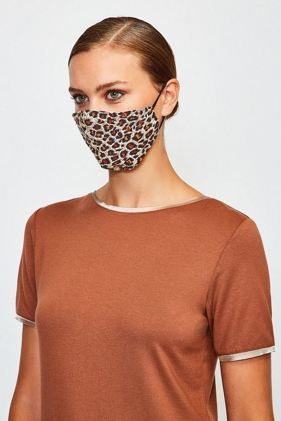 Fashion Leopard Face Mask