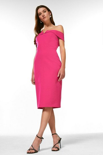 Pink Forever Bardot Dress