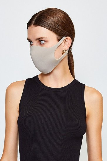 Grey Fashion Face Mask 3 Pack