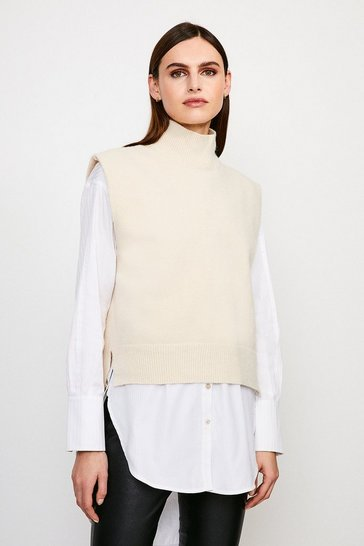 Cream Tabard Knit