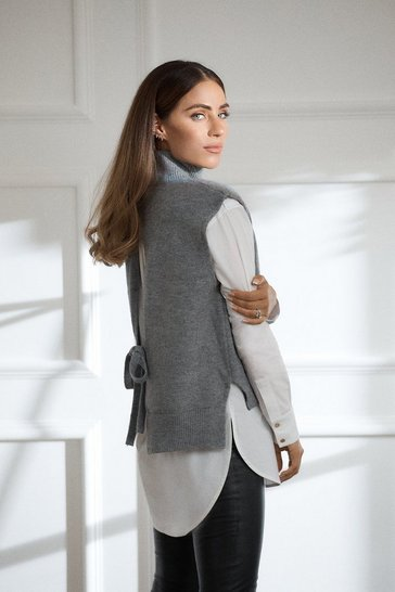 Grey Tabard Knit