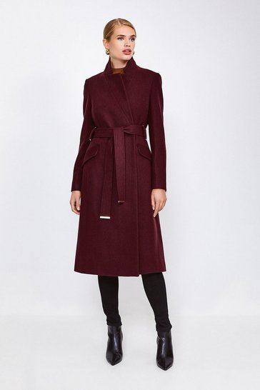 Fig Classic Notch Collar Coat